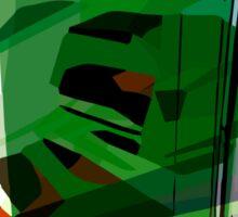 Greeny leafy graphic design Sticker