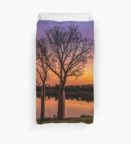 Sunset, Kununurra Duvet Cover