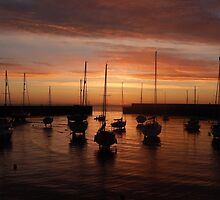 Bray Harbour first light by Aoife McNulty