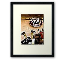AAA Framed Print