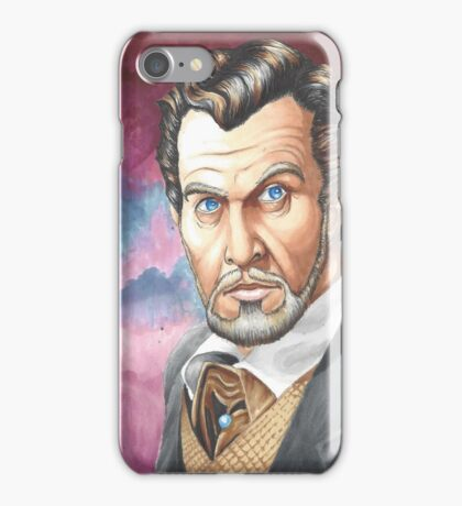 Vincent Price, The Master of Horror iPhone Case/Skin