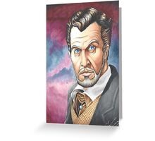 Vincent Price, The Master of Horror Greeting Card