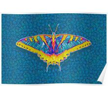 BUTTERFLY SINGS WITH ITS WINGS Poster