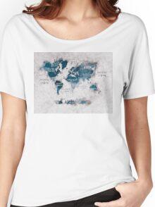world map 13 Women's Relaxed Fit T-Shirt