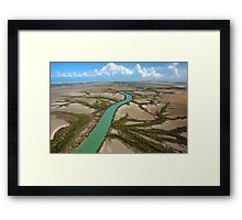 Remote Cape York river Framed Print