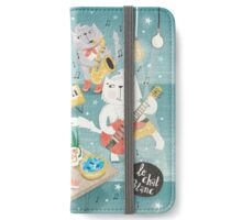 LE CHAT BLANC iPhone Wallet/Case/Skin