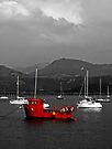 Red Boat by Yampimon