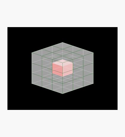 Cube within a cube Photographic Print