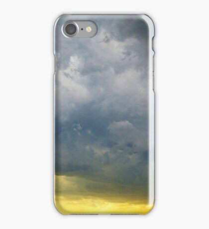 Storm Clouds over New York City  iPhone Case/Skin