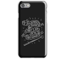 I Solemnly Swear that I am up to Good iPhone Case/Skin