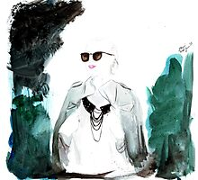 What ELLE Wears - Natasha Photographic Print