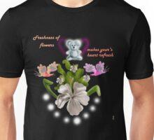 Freshness Of Flowers  Unisex T-Shirt