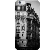 Paris apartments iPhone Case/Skin