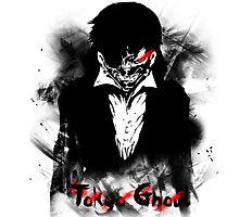 Kaneki Ken - Tokyo Ghoul by Zabullionaire