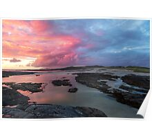Sunset at Sanna Bay Poster