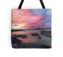 Sunset at Sanna Bay Tote Bag