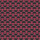 Graphic Owl Pattern by Mariya Olshevska