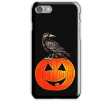 The Crow And The Pumpkin iPhone Case/Skin