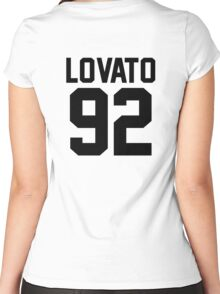 #DEMILOVATO Women's Fitted Scoop T-Shirt