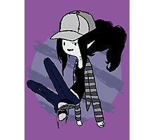 Marceline Hipster - Adventure time Photographic Print