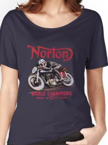 NORTON TT MOTORCYLE RETRO VINTAGE Women's Relaxed Fit T-Shirt