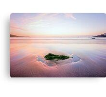 Beach Before Sunrise Canvas Print