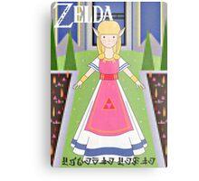Zelda! Metal Print