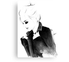 Punky Topknot Canvas Print