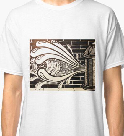 Watered Down Graffiti  Classic T-Shirt