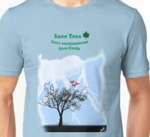 World with tree Unisex T-Shirt