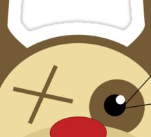 Ugly Macabre Christmas Sweater Sticker