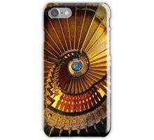 Golden stairs iPhone Case/Skin