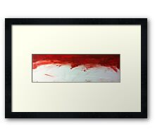 RUSTY BRUSH Framed Print