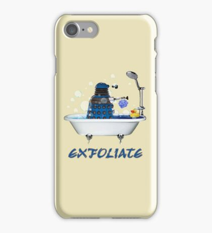 Darlek - EXFOLIATE! iPhone Case/Skin
