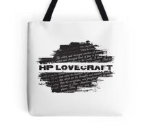 HP Lovecraft Quotes Tote Bag