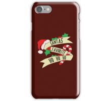 Santa Ho Ho Ho iPhone Case/Skin