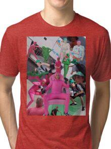 Pink Dude Shirt Tri-blend T-Shirt