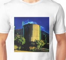 Water Tower Contrast  Unisex T-Shirt