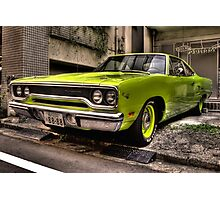 1970 Plymouth Road Runner Photographic Print