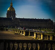 Paris day scene by visualimagery