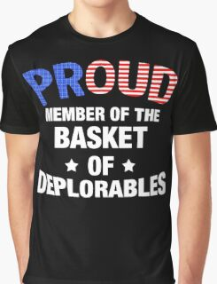 Basket Of Deplorables T-Shirt, Donald Trump For President Graphic T-Shirt