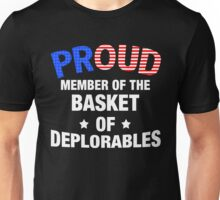 Basket Of Deplorables T-Shirt, Donald Trump For President Unisex T-Shirt