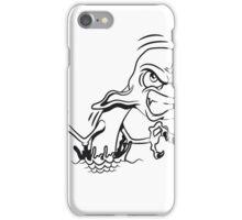 Monster witzig wasser  iPhone Case/Skin