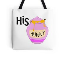 His Hunny Winnie the Pooh for Her - Couples T-Shirts and Cases Tote Bag