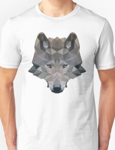 Low Poly Wolf Unisex T-Shirt