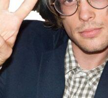 Matthew Gray Gubler being a dork Sticker
