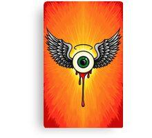 Winged Eye Canvas Print