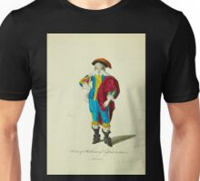 Habit of a nobleman of England in 1640 Noble Anglois 215 Unisex T-Shirt