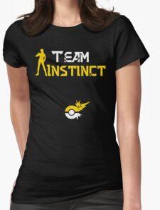 Team Instinct Spark Pokemon Go Womens Fitted T-Shirt