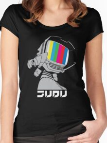 FLCL - Canti Broadcast  Women's Fitted Scoop T-Shirt